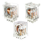 Industrial Relays of small dimensions series RUC