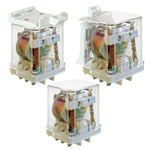 Industrial relays for DC loads series RUC-M