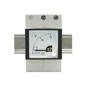 Rail Mounted Voltmeter