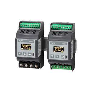 Rail mounted Single phase power network meter