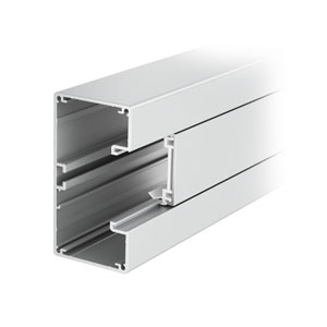 Rapid 45 aluminium trunking 1-compartment