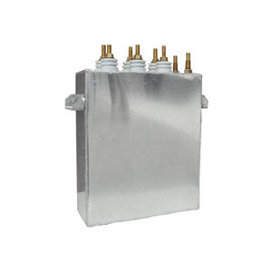 Rectangular case Commutating capacitor POAJV 1-1/90