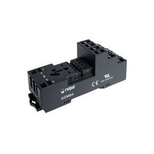 Relay socket type GZMB4