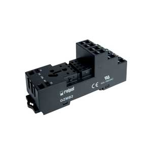 Spring terminals Socket for industrial relay R2N series