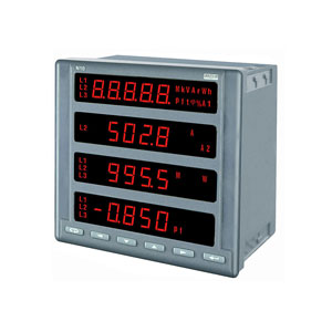 Three phase power network meter