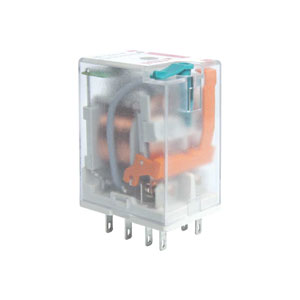 Two Contacts Relay with coil 12V DC