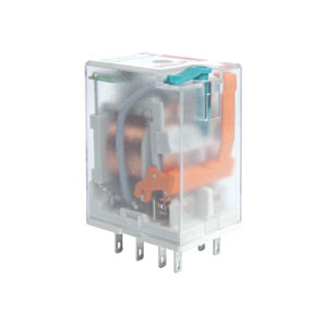 Two Contacts Relay with coil 24V DC