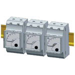 Meters Clamping to DIN Rails