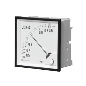 Analog Panel Power factor meter