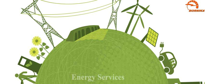 Borna niroo karan (Bornika) based on high experience and knowledge of its engineers  provides energy services to their customers as follows: